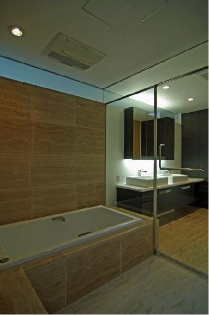 橦木の家の写真 浴室