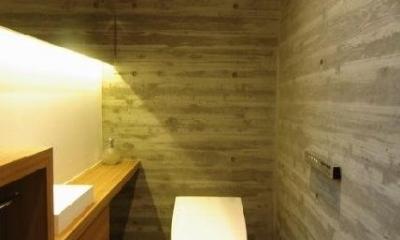 橦木の家 (トイレ)