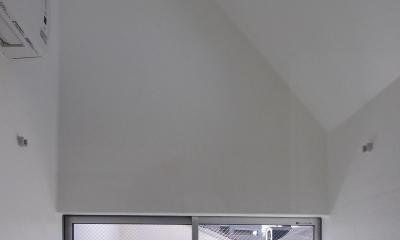 スキップフロアがつくる快適空間 (白金の家) (浴室)