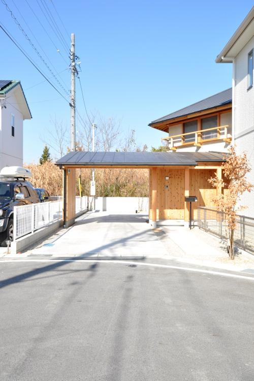 豊田の家の写真 南外観