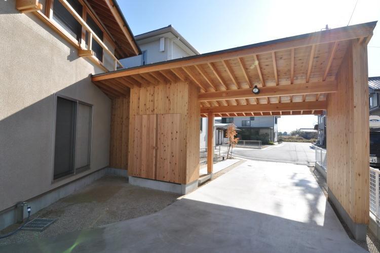 豊田の家の写真 駐車場