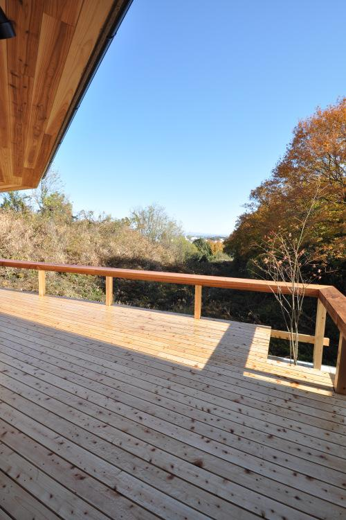 豊田の家の写真 テラスより見る東側の眺望