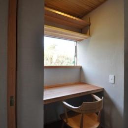 豊田の家 (家事室)