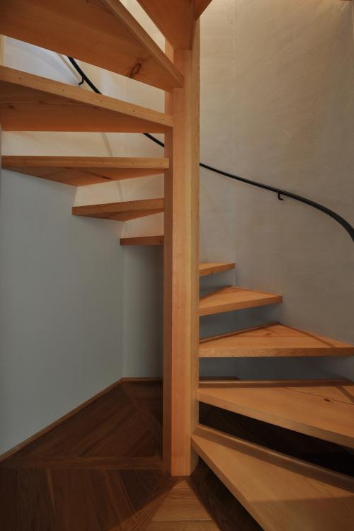 豊田の家の写真 階段室