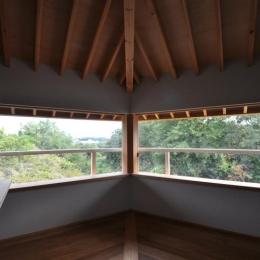 豊田の家 (2階ベッドルーム)