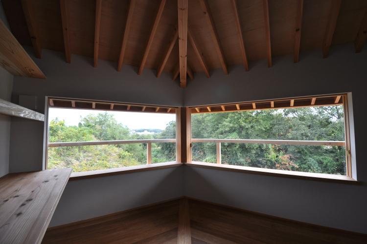豊田の家の写真 2階ベッドルーム