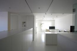 大倉山のマンション_リノベーション (広々LDK-1)