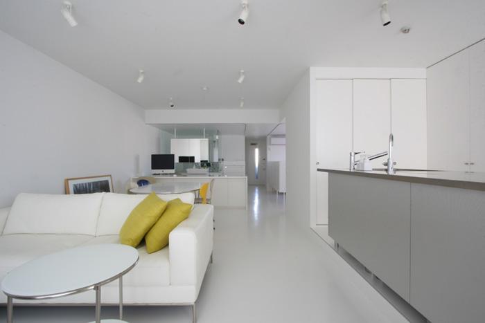 大倉山のマンション_リノベーションの部屋 広々LDK-2