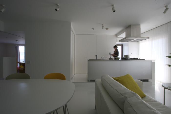 大倉山のマンション_リノベーションの部屋 広々LDK-3