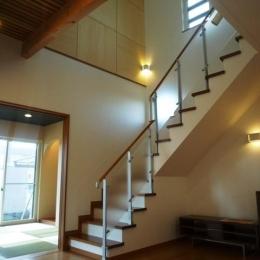 囲みの家 (室内階段・和室)