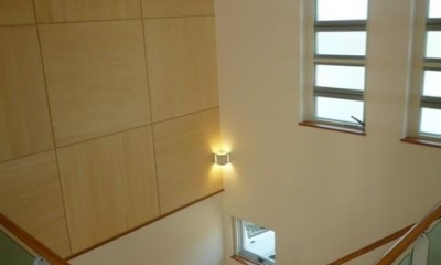 囲みの家 (2階から見下ろす)