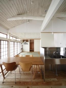 仁川台の住まい (畳スペースのあるLDK-1)
