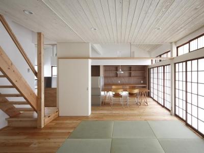 仁川台の住まい (畳スペースのあるLDK-2)