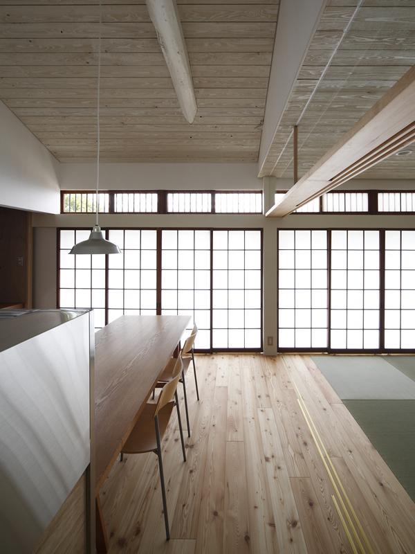 仁川台の住まいの写真 優しい光の差し込む障子戸