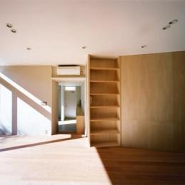 藤沢の家 (リビング2(撮影:Mitsuo Matsuoka))