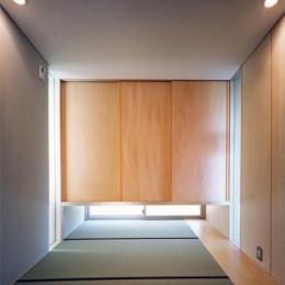 藤沢の家 (和室(撮影:Mitsuo Matsuoka))