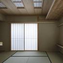 花園の家/スケルトン・リノベーションで耐震・断熱改修も行った和風の住まいの写真 和室(撮影 : 母倉知樹)