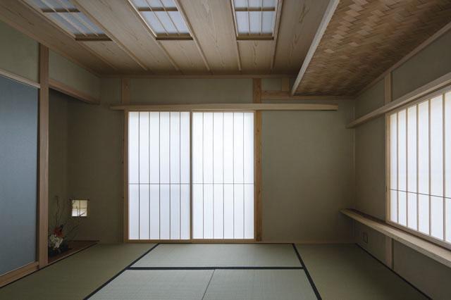 花園の家の部屋 和室(撮影 : 母倉知樹)