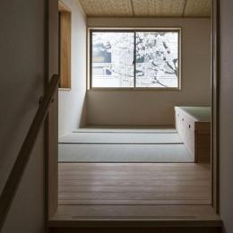 花園の家 (和室2(撮影 : 母倉知樹))