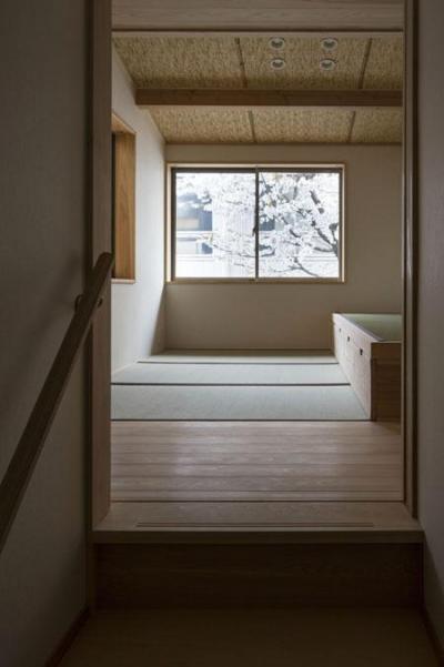 和室2(撮影 : 母倉知樹) (花園の家)