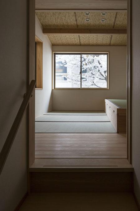 花園の家の部屋 和室2(撮影 : 母倉知樹)