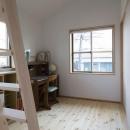 花園の家/スケルトン・リノベーションで耐震・断熱改修も行った和風の住まいの写真 子供部屋(撮影 : 母倉知樹)