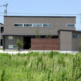 つばきの郷の家 (外観-正面)