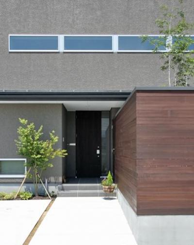 つばきの郷の家 (玄関-外観)