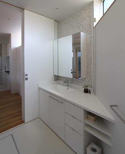 つばきの郷の家 (洗面室)