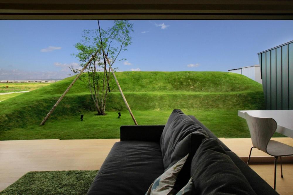 建築家:小林 亙「O-House <エンガワとドテのイエ>」