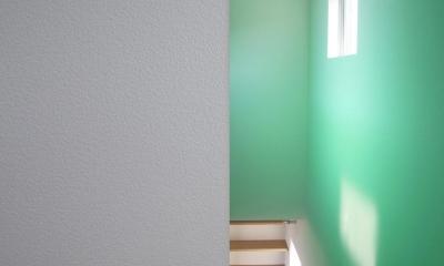 O-House <エンガワとドテのイエ> (階段室)