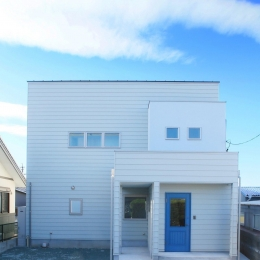 Y's residence (外観-正面)