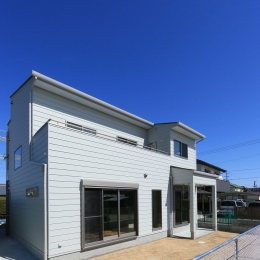 Y's residence (外観-背面)