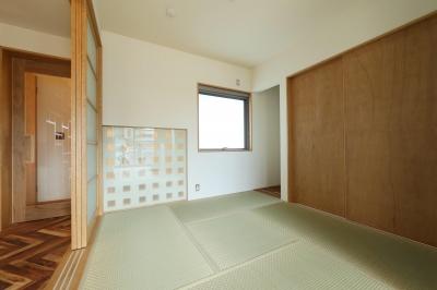 リビング内和室 (Y's residence)