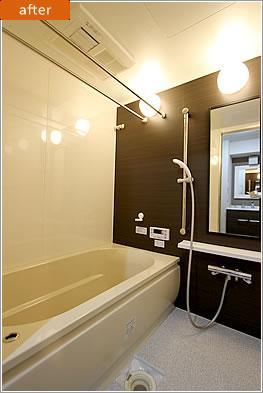 H様邸「マンションまるごとリフォーム」の写真 浴室