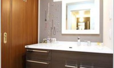 洗面所|H様邸「マンションまるごとリフォーム」