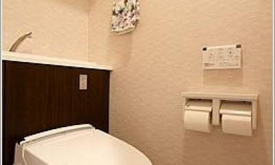 トイレ|H様邸「マンションまるごとリフォーム」