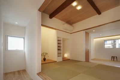 和室 (戸手本町の家 ー リノベーション)