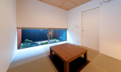 南浅田の家~大きな中庭のある家~ (和室)