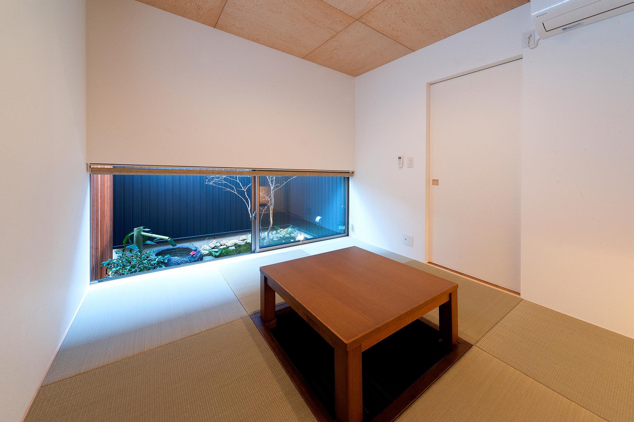 南浅田の家~大きな中庭のある家~の部屋 和室