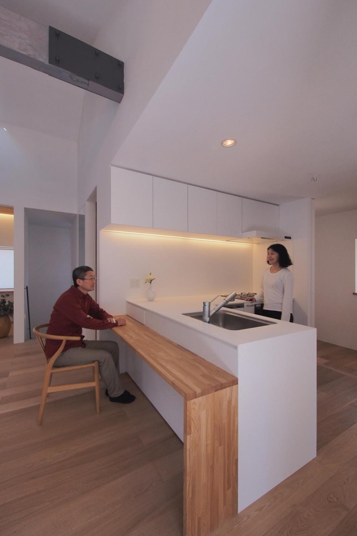戸手本町の家 ー リノベーション (キッチン)