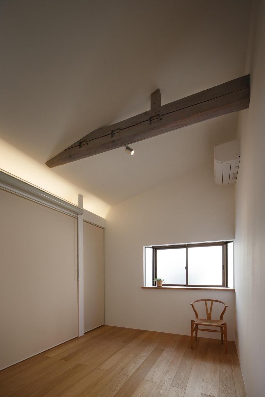 戸手本町の家 ー リノベーション (主寝室)