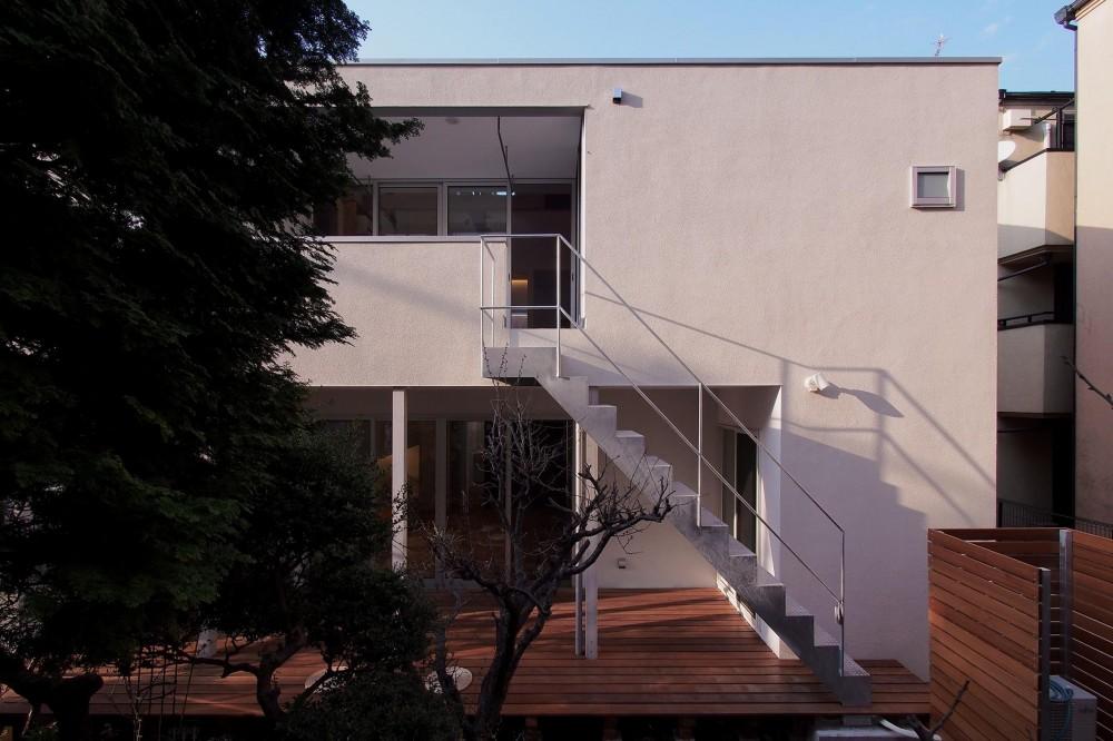 戸手本町の家 ー リノベーション (南側外観)