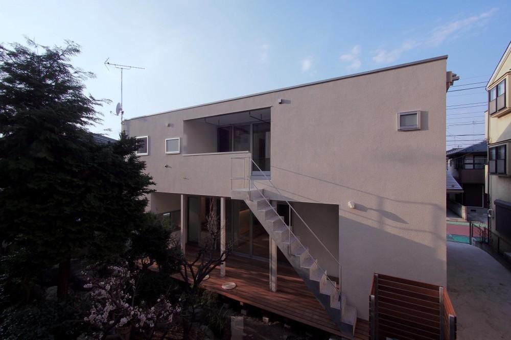 戸手本町の家 ー リノベーション (南東側外観)
