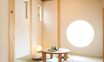 畳コーナー|金沢兼六の家 6LDK7人家族4層の家