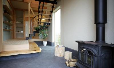 玄関土間|木の家