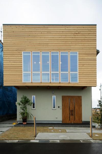 木の家 (外観)