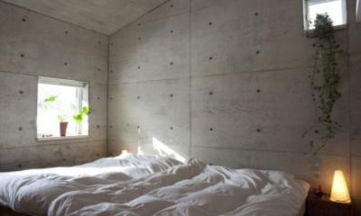 ベッドルーム(撮影:川本聖哉)|雁木のある家