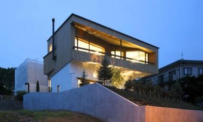 外観(撮影:酒井広司)|界川の家