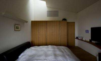 ベッドルーム2(撮影:古瀬桂)|界川の家